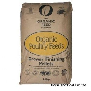 Allen & Page Organic Feed Company Grower/Finishing Pellets Poultry Food 20kg