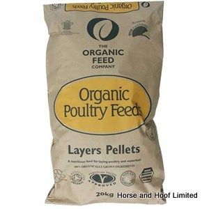 Allen & Page Organic Feed Company Layers Pellets Poultry Food 20kg
