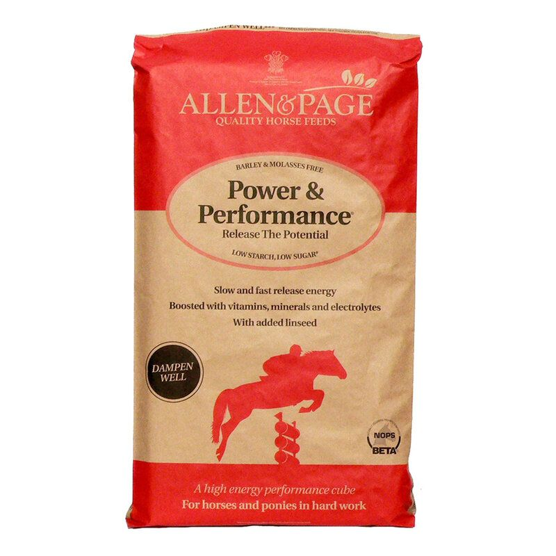 Allen & Page Power & Performance Horse Feed 20kg