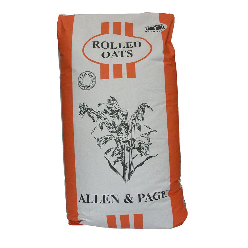 Allen & Page Rolled Oats Horse Feed 20kg