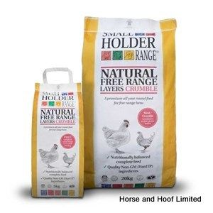 Allen & Page Small Holder Range Natural Free Range Layers Crumble Poultry Food 20kg