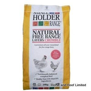 Allen & Page Small Holder Range Natural Free Range Layers Crumble Poultry Food 5kg