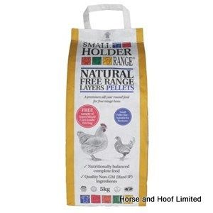 Allen & Page Small Holder Range Natural Free Range Layers Pellets Poultry Food 5kg