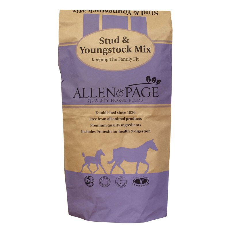 Allen & Page Stud & Youngstock Mix Horse Feed 20kg