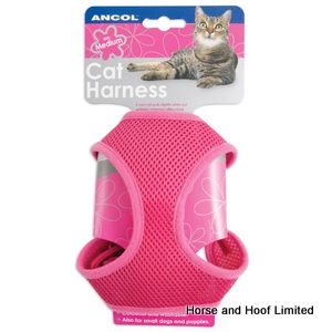 Ancol Pink Soft Cat Harness - Small