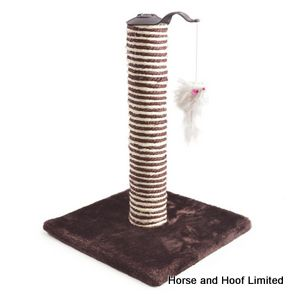 Ancol Premo Deluxe Cat Scratcher with Toy Mouse