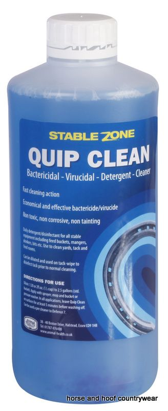 Animal Health Company Stablezone Quip Clean