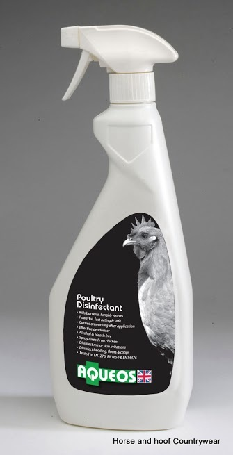 Aqueos Poultry Disinfectant Spray