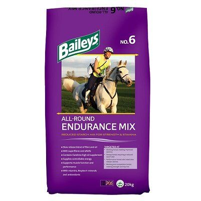 Baileys No.6 All-Round Endurance Mix Horse Feed 20kg