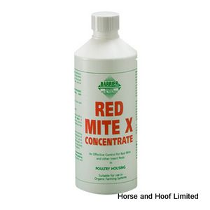 Barrier Red Mite X Concentrate Poultry Parasite Control  400ml