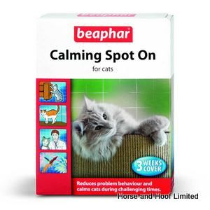 Beaphar Calming Spot On Treatment For Cats At 3 Weeks x 6