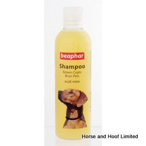 Beaphar Dog Shampoo For Dogs With A Brown Coat 6 x 250ml