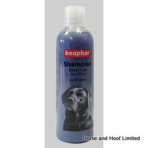 Beaphar Dog Shampoo For Dogs With Black Coats 6 x 250ml