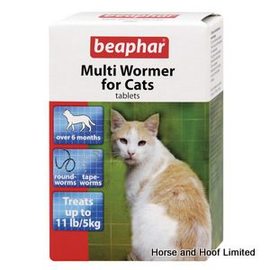 Beaphar Multi Wormer For Cats 6 x 12