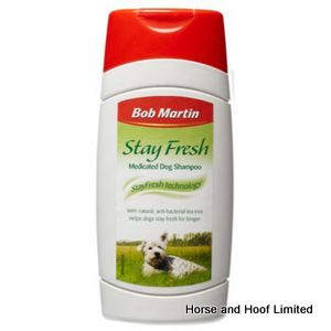 Bob Martin Stay Fresh Medicated Dog Shampoo 6 x 250ml