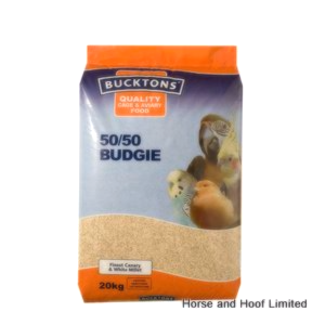 Bucktons 50/50 Budgie Food 20kg