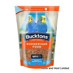 Bucktons Budgerigar Food with Spiralife 20kg