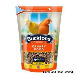 Bucktons Canary Food with Spiralife 20kg