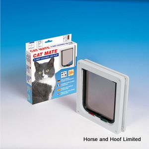 Cat Mate Cat Flap 4 Way Locking - Small
