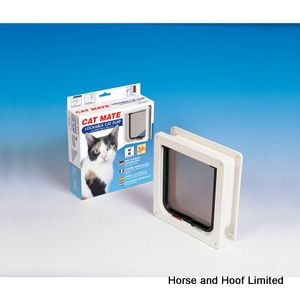 Cat Mate Cat Flap 4 Way Locking with Door Liner - Medium