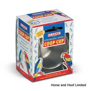 Classic Coop  Bird Feeder Cups With Wire Clamp 23cm