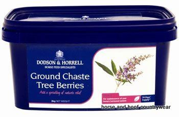 Dodson & Horrell Ground Chaste Tree Berries