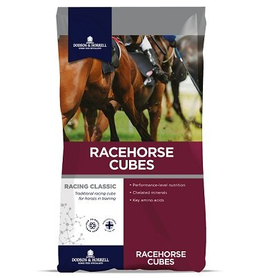Dodson & Horrell Racehorse Cubes Horse Feed 20kg