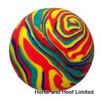 Dog Life Floating Rubber Swirl Ball 8cm