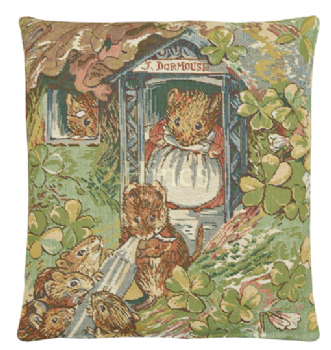 Dormice - Fine Tapestry Cushion