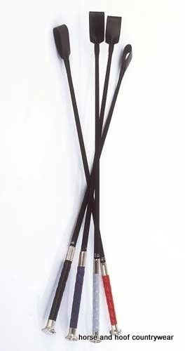 Edward Goddard Riding Crop With Rubber Grip Handle