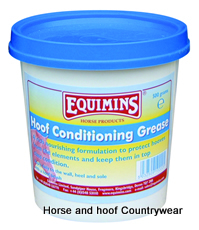 Equimins Hoof Conditioning Grease Black