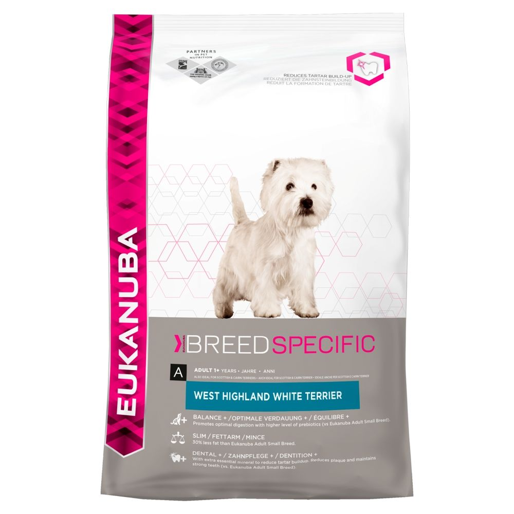 Eukanuba West Highland Terrier Food 2.5kg