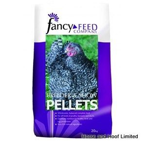Fancy Feeds Breeder & Show Pellets Poultry Food 20kg