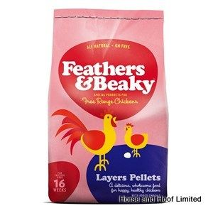 Feathers & Beaky Layers Pellets Poultry Food 15kg