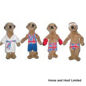 Good Boy Go For Gold Sporting Meerkat Dog Toy