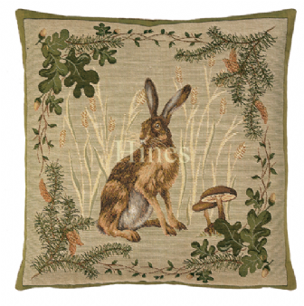 Hare - Fine Tapestry Cushion
