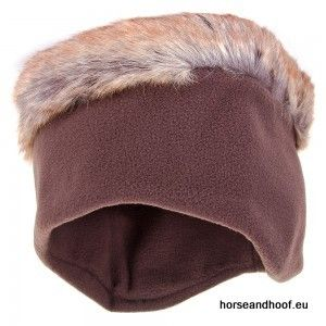 Heather Hats Ladies Alicia Fleece/Faux Fur Headband - Brown.