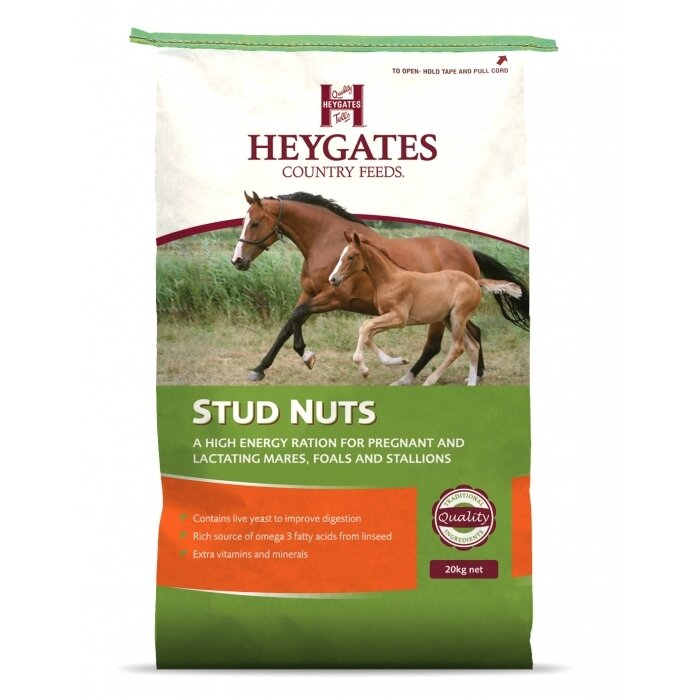 Heygates Stud Nuts Horse Feed 20kg