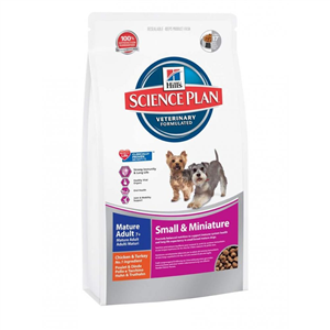 Hills Science Plan Mature Small & Miniature Dog Food 3kg