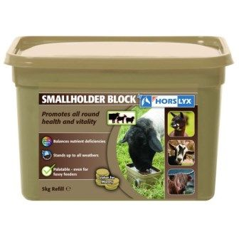 Horslyx Smallholder Block For Horses 5kg