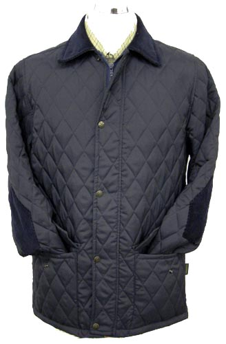 Hunter Outdoor Barley Unisex Jacket - Navy Blue