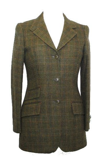 Hunter Outdoor Ladies Tweed Blazer - Fern