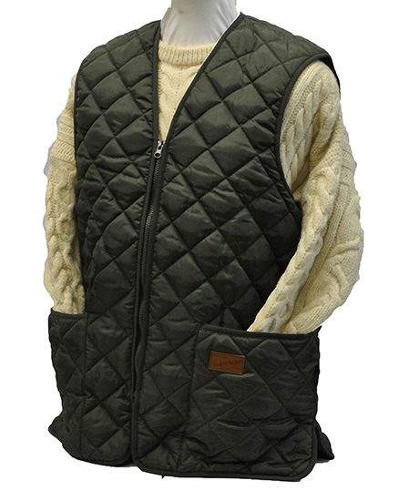 Hunter Outdoor Skeet Quilted Gilet - Dark Olive Green