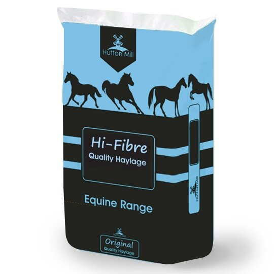 Hutton Mill Hi-Fibre Haylage Horse Feed 20kg