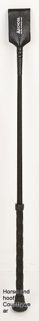 HySCHOOL Leather Riding Whip