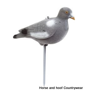 Jack Pyke of England Flocked Pigeon Full Body Decoy - Pack of 6