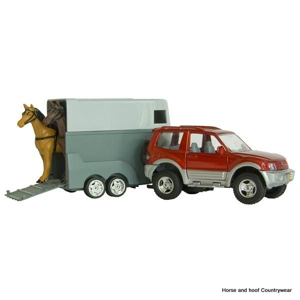 Jeep with Horse Trailer Toy