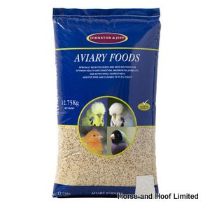 Johnston & Jeff Aviary Budgie Food Seed Mix 12.75kg