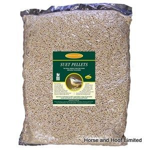 Johnston & Jeff Suet Pellets Bird Feed With Peanut 12.75kg