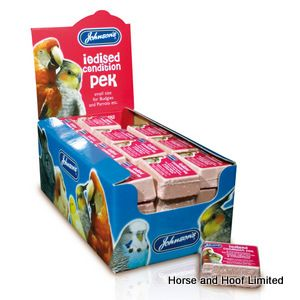 JVP Iodised Condition Peks Supplement For Birds x 48